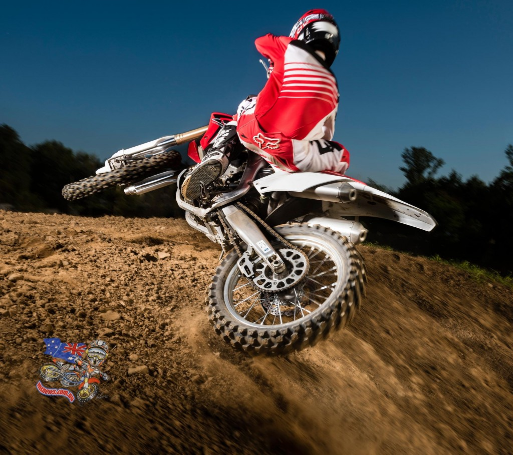 Honda's CRF450R and CRF250R dominated the motocross Australian Motorcycle Sales Figures First Quarter 2015