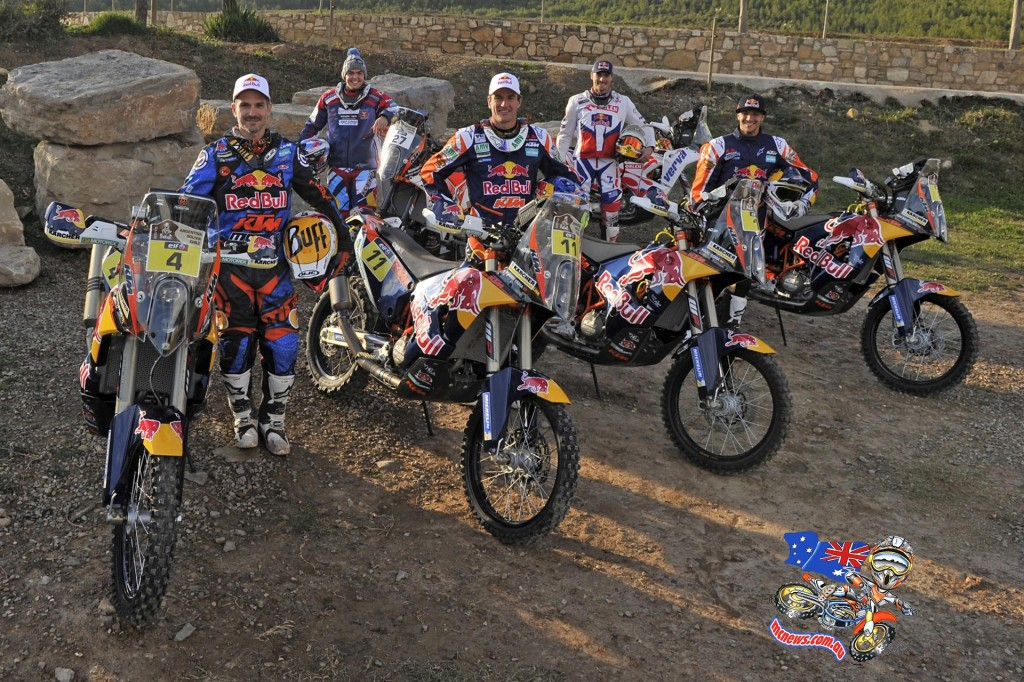 KTM 450 Rally 2015 Dakar Team