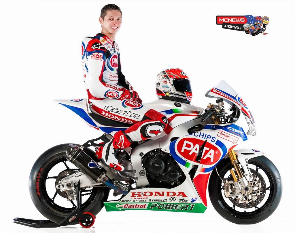 Pata Honda World Superbike 2015 - Michael van der Mark