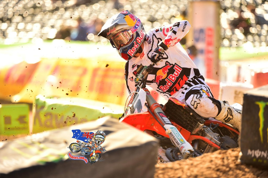 450SX Class points leader, Ryan Dungey (82 points) - Photo Credit: Hoppenworld