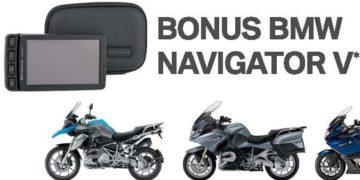 BMW Motorrad sees in the New Year with bonus Navigator V
