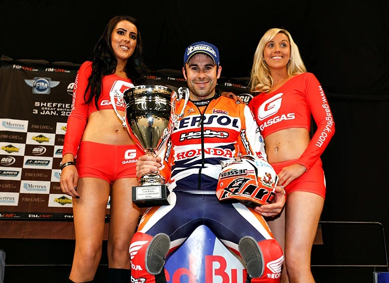 Toni Bou was in a class of his own