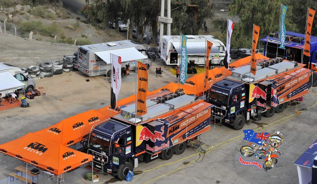KTM Factory Support set-up
