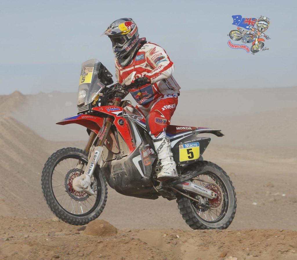 Helder Rodrigues Stage 9 Winner Dakar 2015