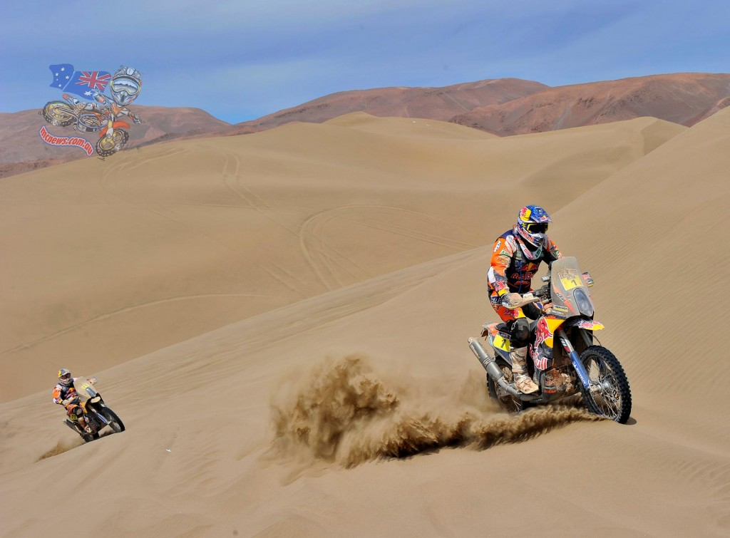 Marc Coma Dakar 2015 Third on Stage Nine but retains overall lead