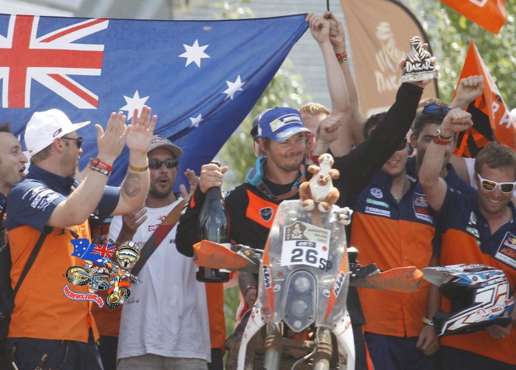 Toby Price confirmed his name in the annals of Australian Motorcycling Off-Road Royalty with a Dakar podium on debut