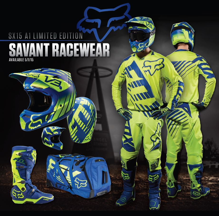 Fox A1 Savant Racewear