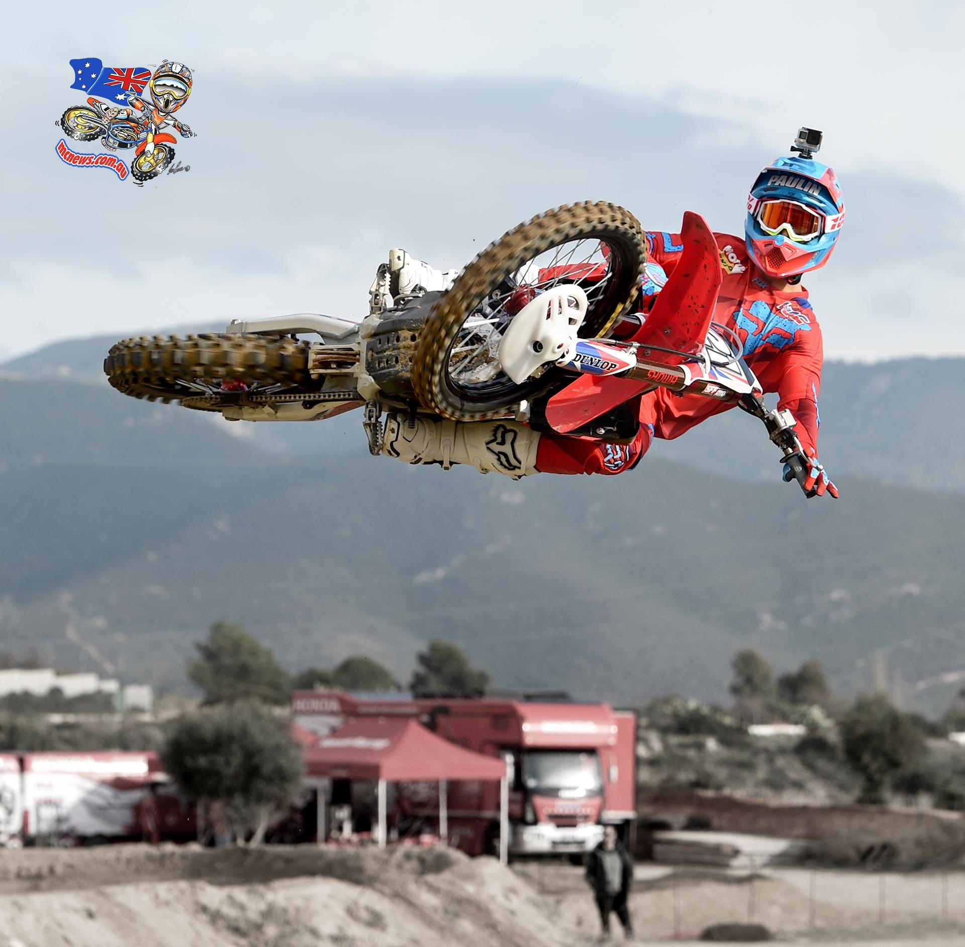 Gautier Paulin Testing in Sardinia