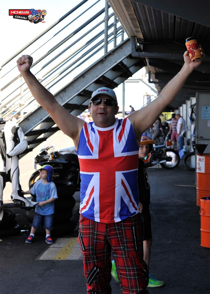 If the UK get the win this bloke will be out of control