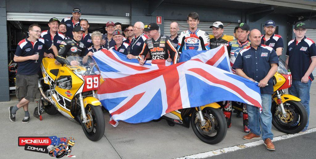 Team UK celebrate Island Classic International Challenge Victory