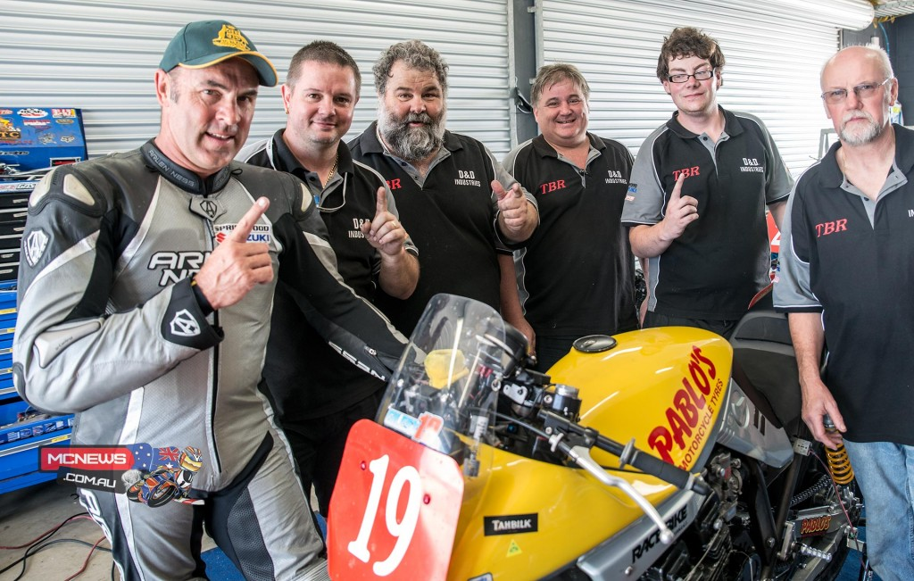 Shawn Giles won the opening International Challenge race at the 2015 Island Classic