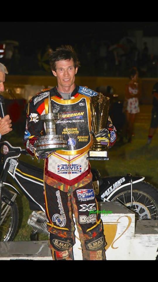 Jason Doyle 2015 Australian Speedway Champion