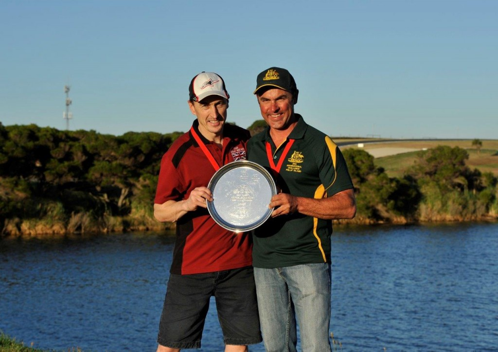 Jeremy McWillians and Shawn Giles shared individual honours - 2014 Island Classic