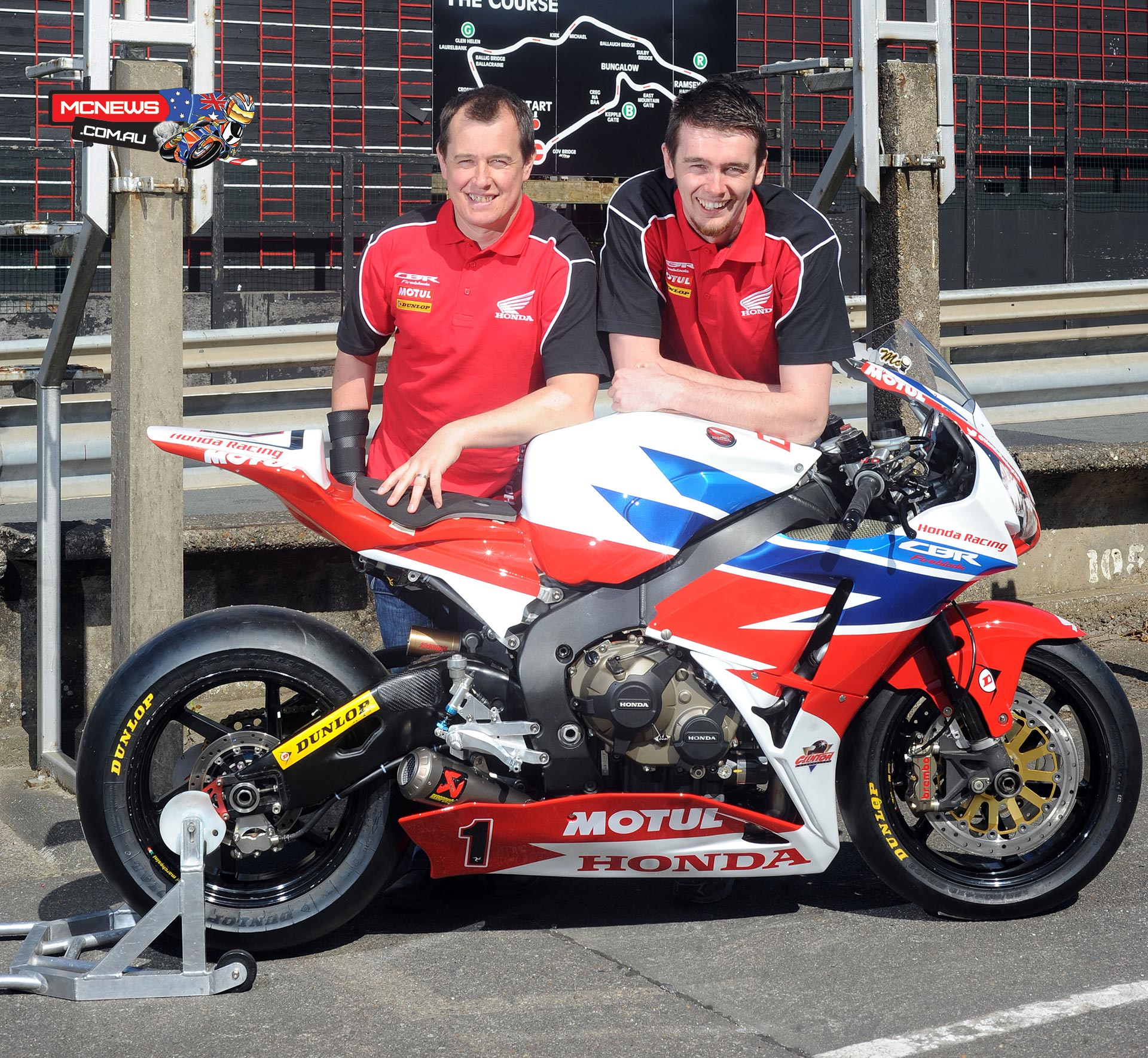 John McGuinness and Conor Cummins remain with Honda Racing for 2015 roads campaign