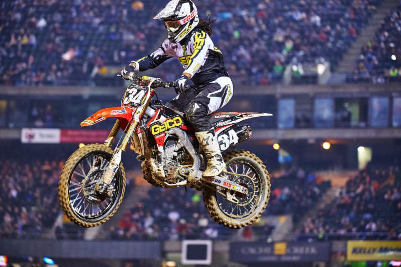 Western Regional 250SX Class's Malcolm Stewart earns his first career win in Oakland - Photo Credit: Hoppenworld