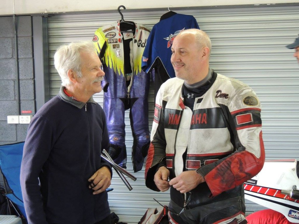 Rod Tingate and Dave Crussell