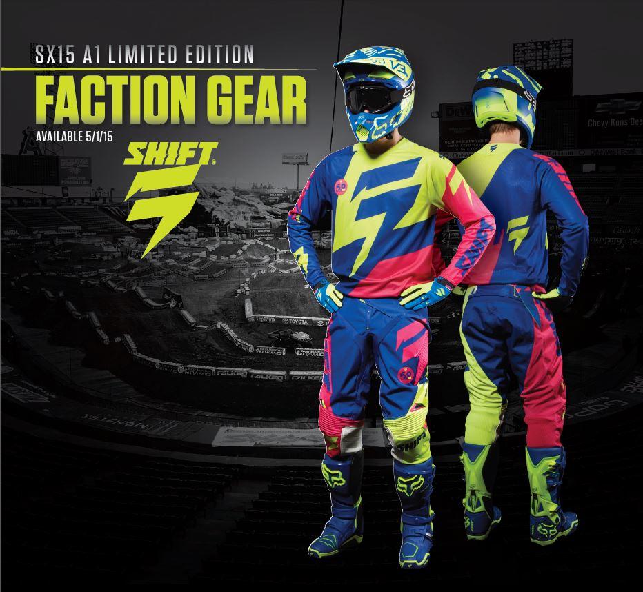 Shift Anaheim 1 gear now in stores