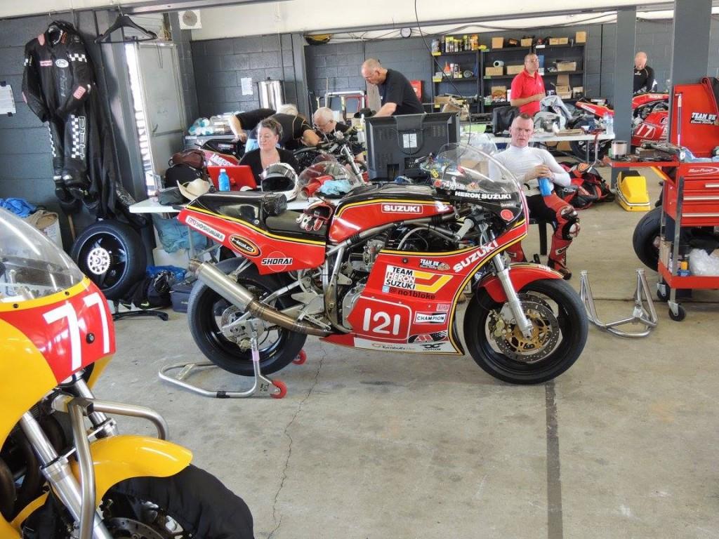 Team UK garage