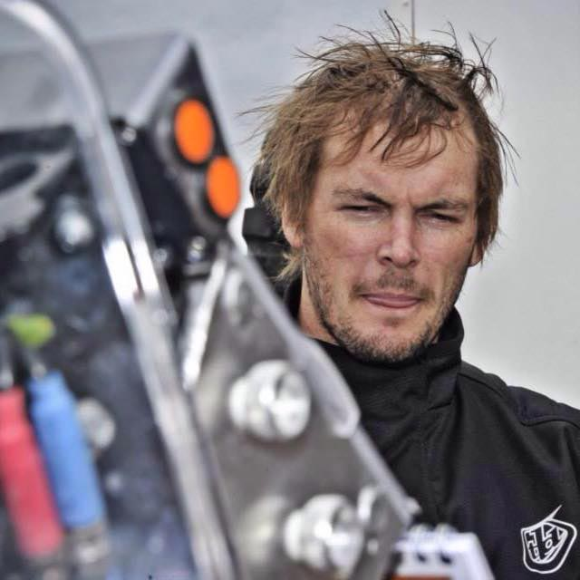 Toby Price pictured before Dakar. He moved up to fifth outright after a great stage two