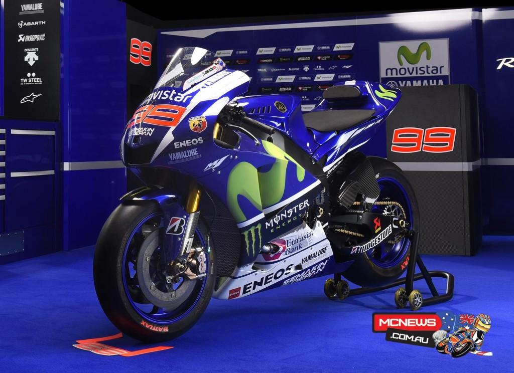 Yamaha MotoGP 2015 Team Launch Jorge Lorenzo