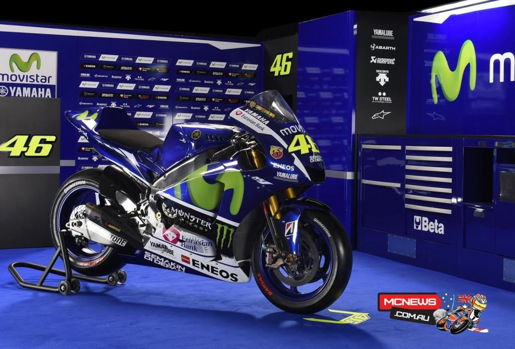 Yamaha MotoGP 2015 Team Launch Valentino Rossi