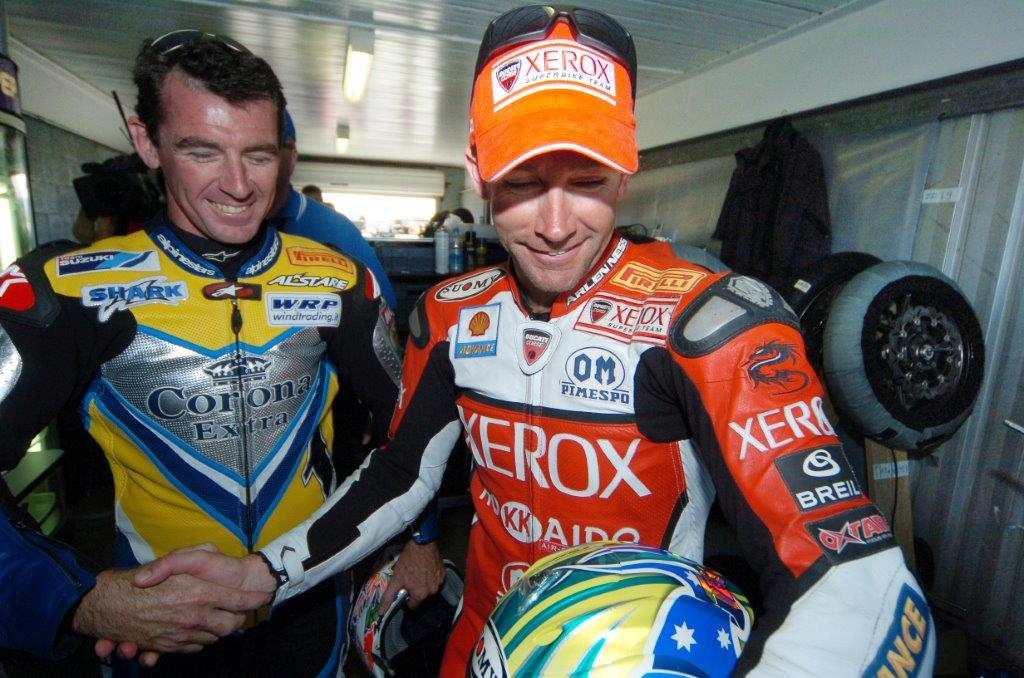 2006 Troy Bayliss and Troy Corser