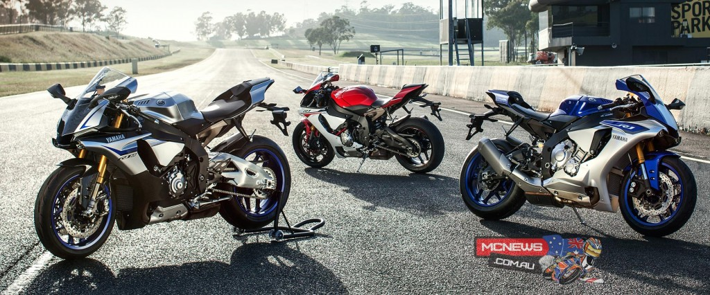 2015 Yamaha YZF-R1 will retail for $23,499 and is available in black, red or blue/silver liveries