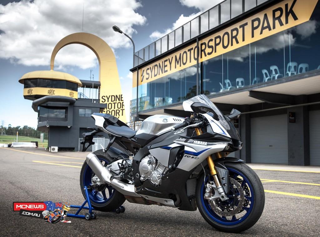 2015 Yamaha YZF-R1M at Sydney Motorsports Park