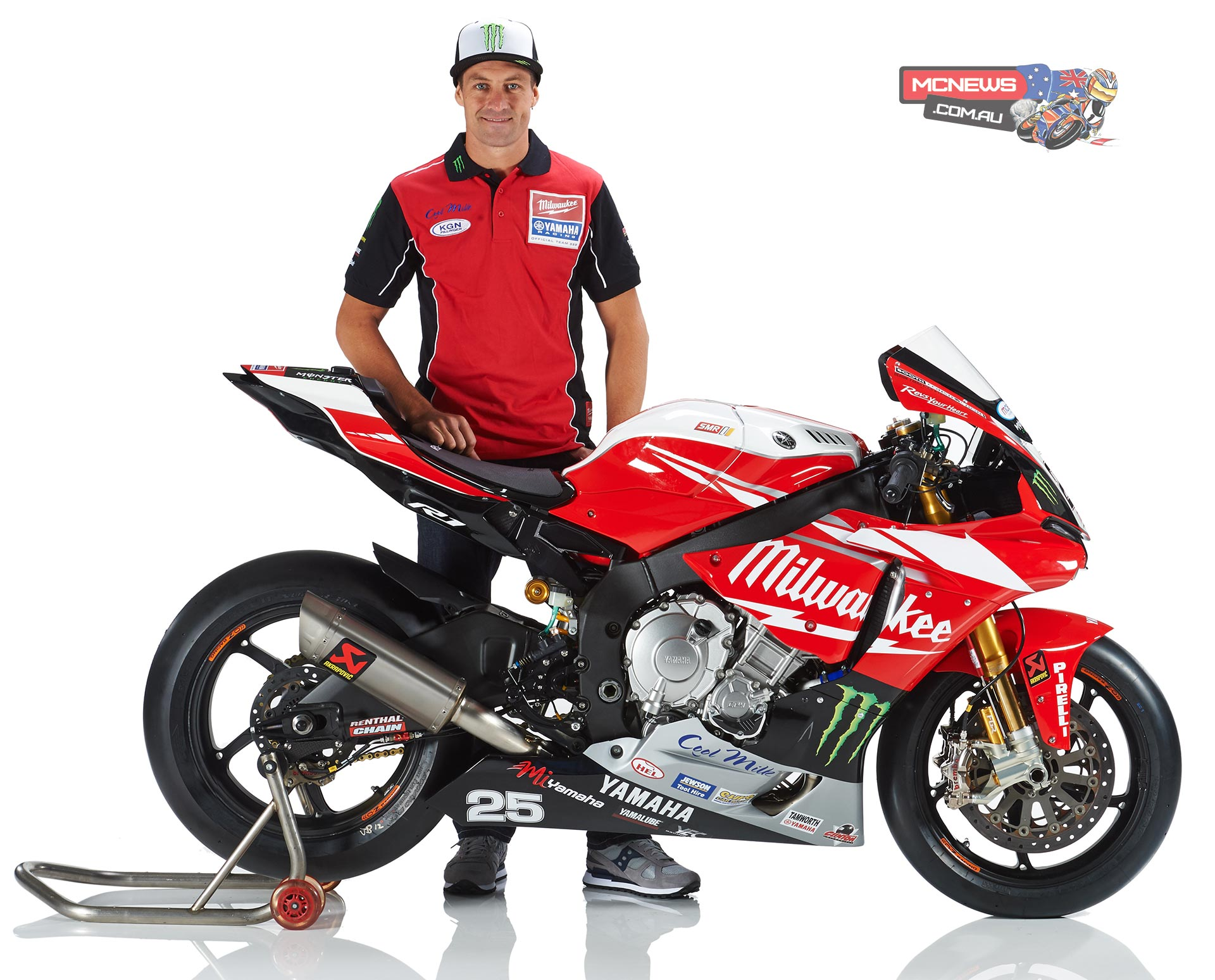 Josh Brookes Milwaukee Yamaha 2015