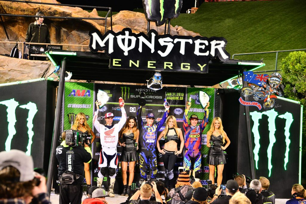 Ryan Dungey extended his 450SX Class points lead to 11