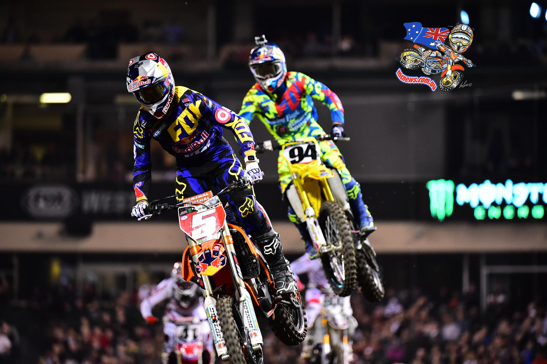 Dungey got the monkey off his back at A3