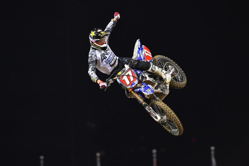 Webb's dominance of the Western Regional 250SX Class continued. Photo Credit: Simon Cudby