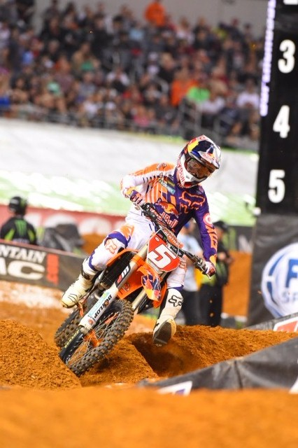 Dungey gave KTM their third class sweep in as many years -Photo Credit: Simon Cudby