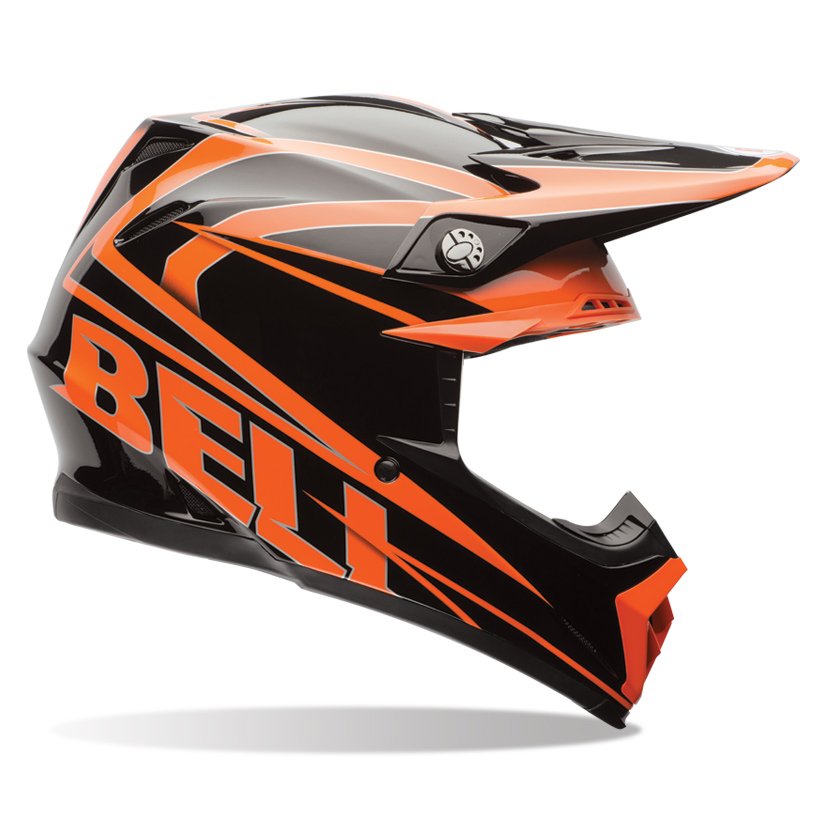 Bell Moto9 Tracker Orange