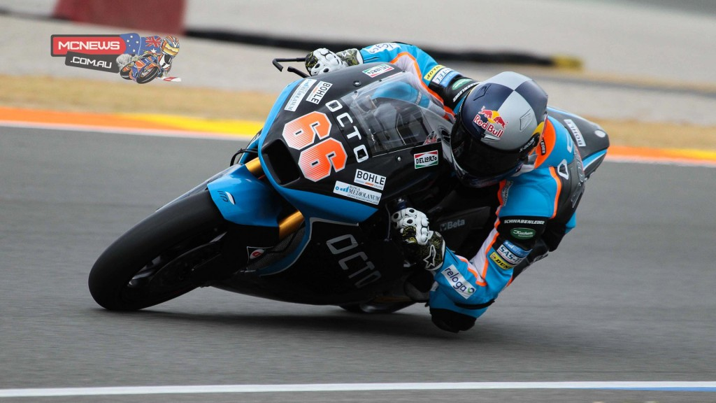 Octo Ioda Racing Team's German rider Florian Alt (+0.513s) was second fastest on Thursday.