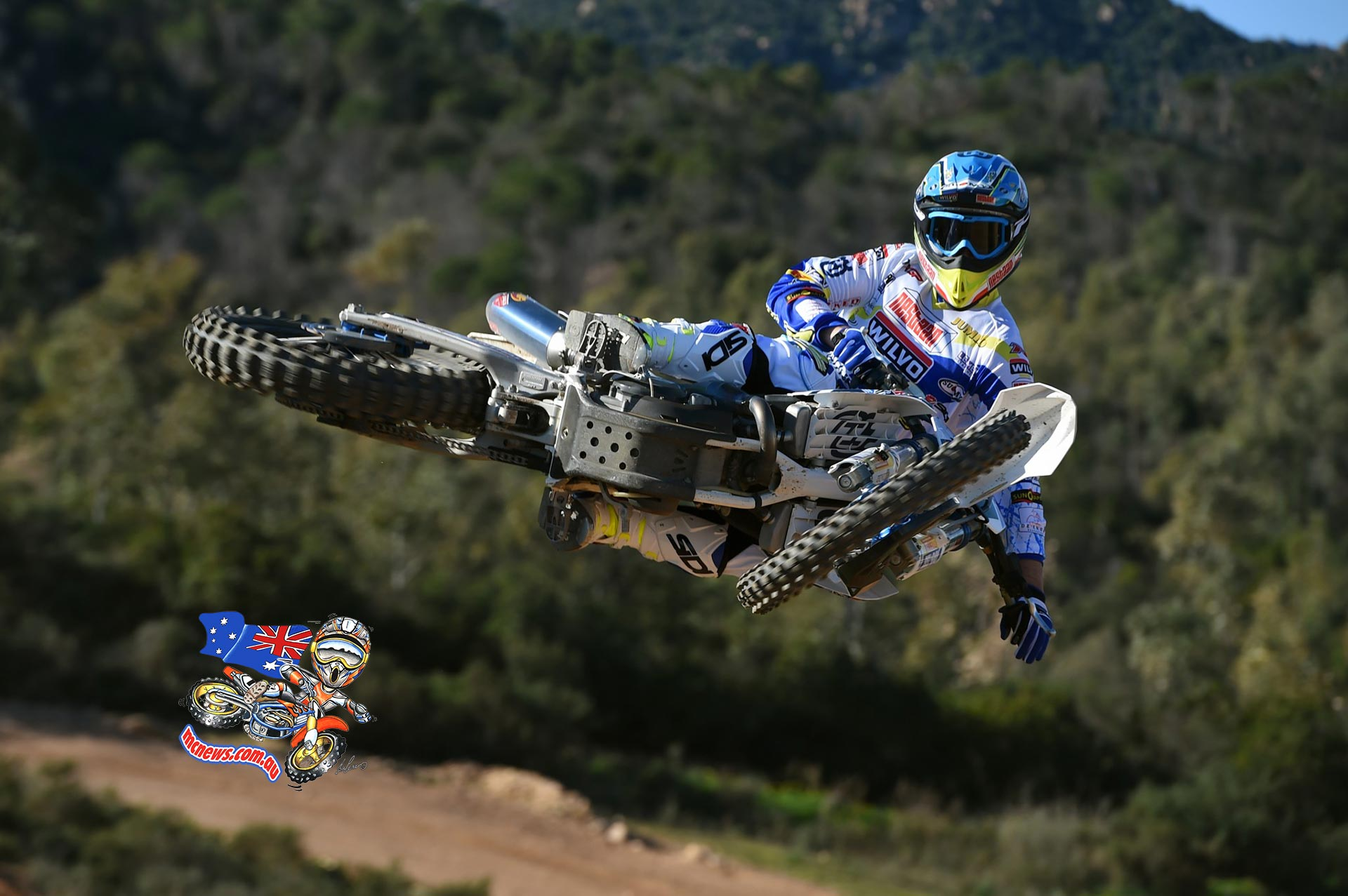 Australian Dean Ferris will race the MXGP class on a Husqvarna FC 350