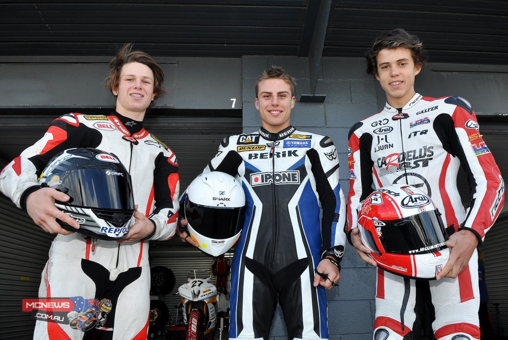 JD Racing Nic Liminton (15, of SA) and Mark Chiodo (16, of Vic.) have confirmed their positions in the JD Racing team to both compete in the Supersport class of the Australian Superbike Championship (ASBK). Regular JD Racing rider, Daniel Falzon (20, of SA), will complete the team of three but steps up to the  premier Superbike category in 2015 after wrapping up multiple Australian Supersport Championships in recent years.