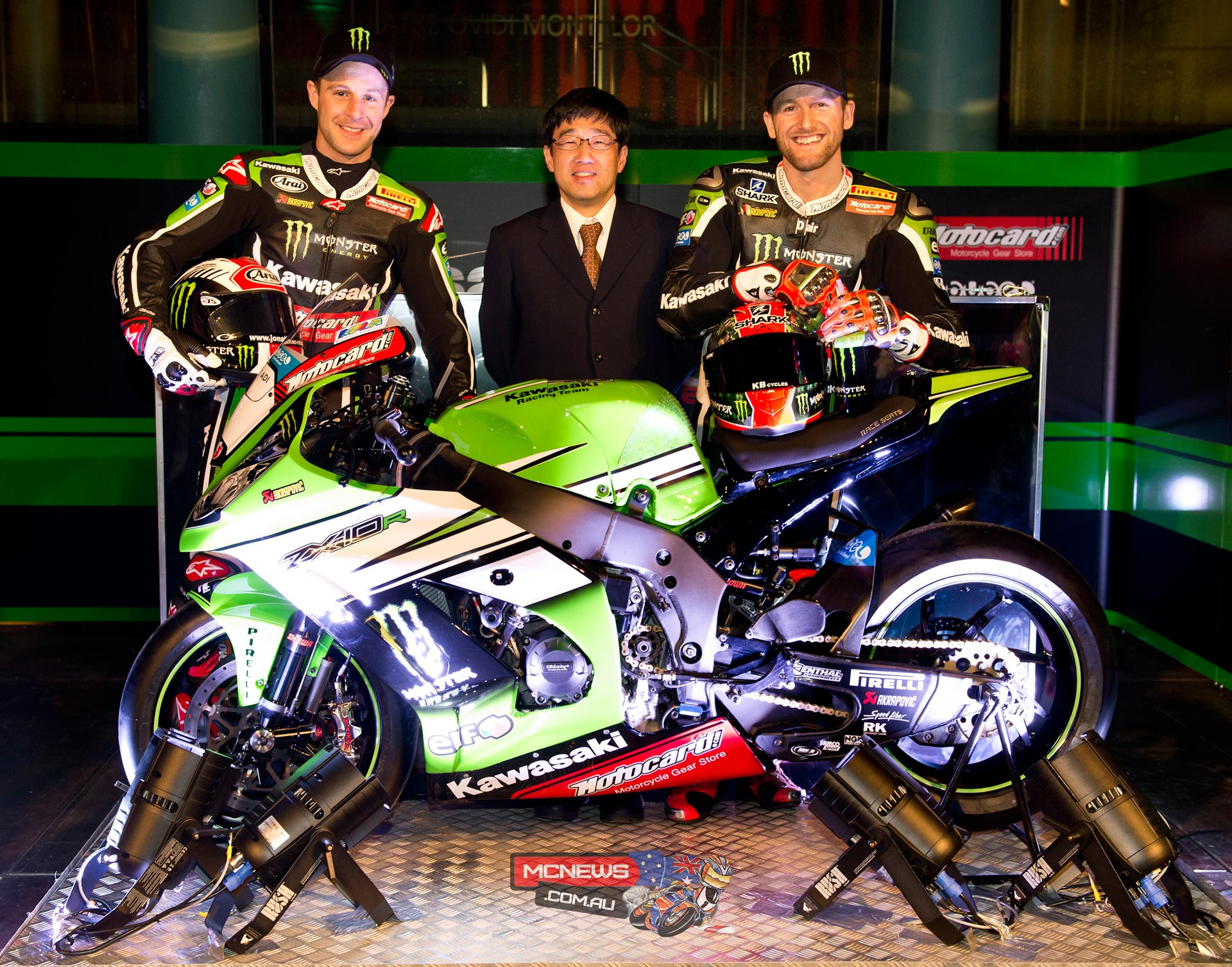 Jonathan Rea and Tom Sykes