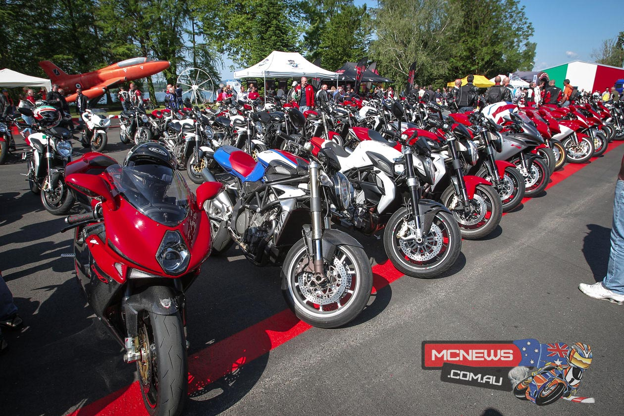 MV Agusta 70th Anniversary Celebrations at Schiranna
