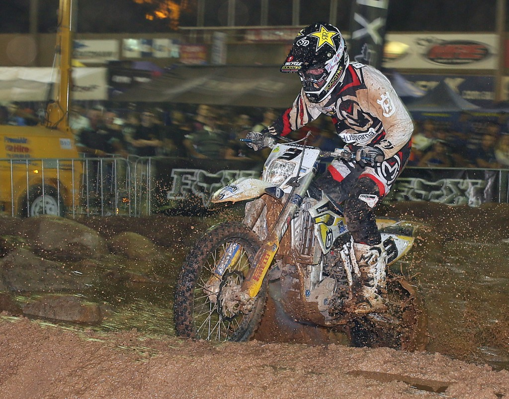 Mike Brown kicked off 2015 with a win in Brisbane