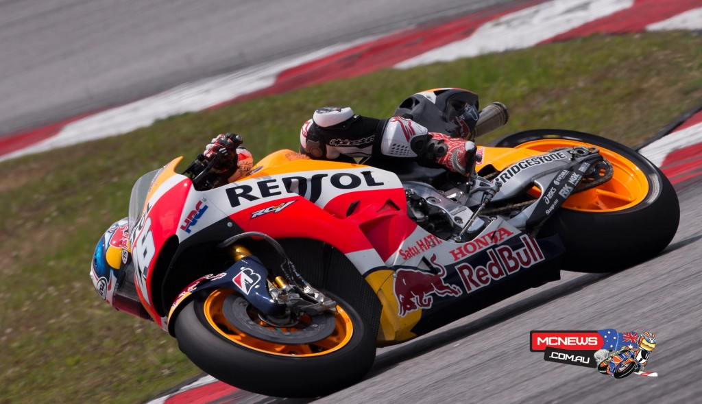 """Dani Pedrosa - 2ND 2'00.543 (52 LAPS) - """"Today we focused on testing different setups for the bike and I think it went well. We have not tried any new parts, instead confirming our findings with what we had at the last test, even though the track was not perfect. It rained at the end, so we could also ride a little in those conditions. Tomorrow we will continue testing some changes to the setup, to see if we can come up with some improvements that allow us to ride more comfortably."""""""