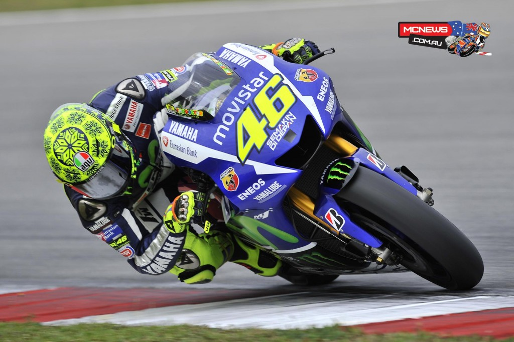"""Valentino Rossi - 4th / 1'59.401 / 49 laps - """"Today I'm more satisfied. It was a good day and we did a good job, especially because we tested everything and we decided what we have to use to continue the development. I'm very happy because 1'59.4 is my best lap in Sepang in my whole career and I'm already 0.3 faster compared to last year. It's true that the conditions today are good, but also compared to yesterday we improved the setting of the bike a lot and also my pace is not so bad. We also tried a race simulation, but not with our performance at a hundred per cent. We tried some different parts for the bike, something good and something I didn't like. My pace in the simulation was quite good so the test was positive. The only negative thing was the speed of Marc and Dani. They are a little bit faster than us on a lap with a fresh tyre, but also in terms of pace. That means that, if we want to beat them, we have to keep working."""""""