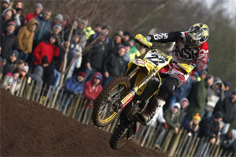 Strijbos was on fire at Hawkestone