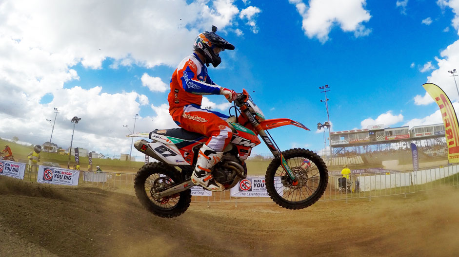 Toby Price won the final race at Archerfield