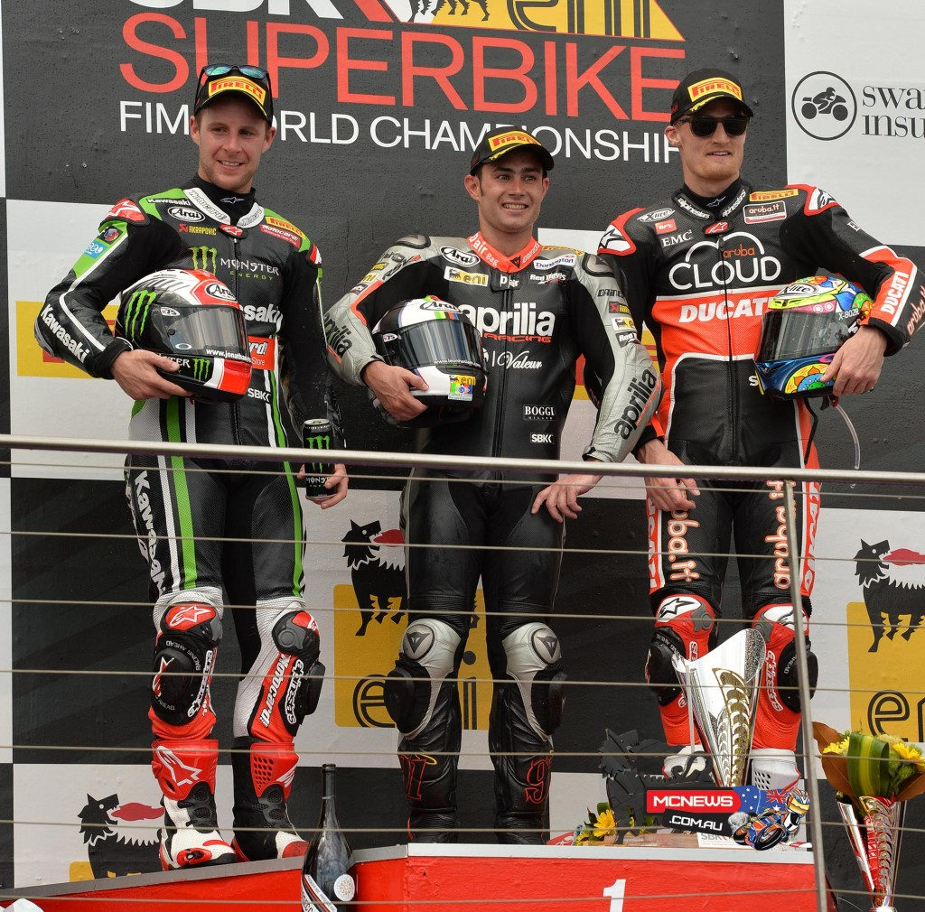 Leon Haslam pipped Jonathan Rea for WSBK Race Two win at Phillip Island