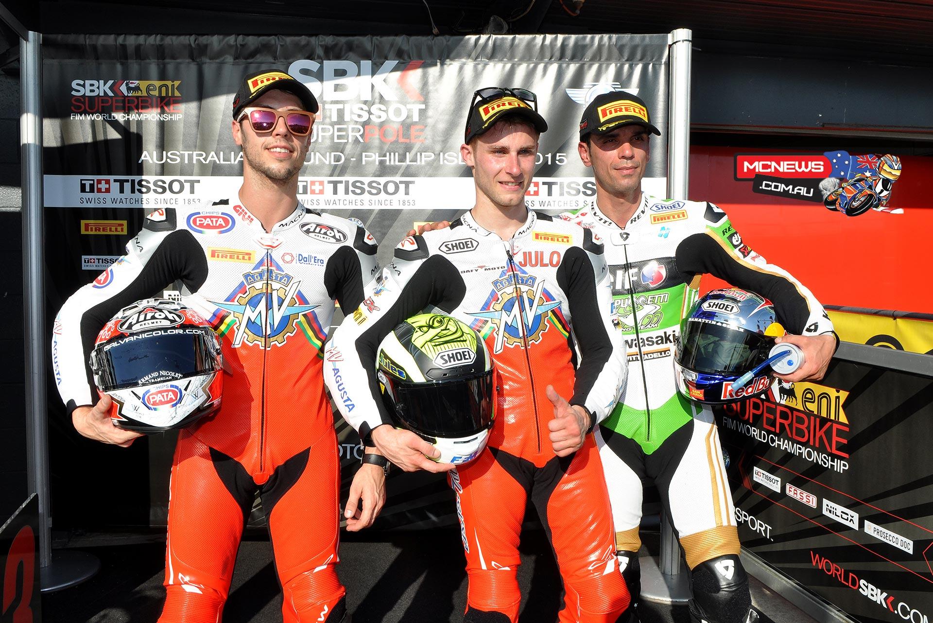 World Supersport Qualifying 2015 Round One Phillip Island