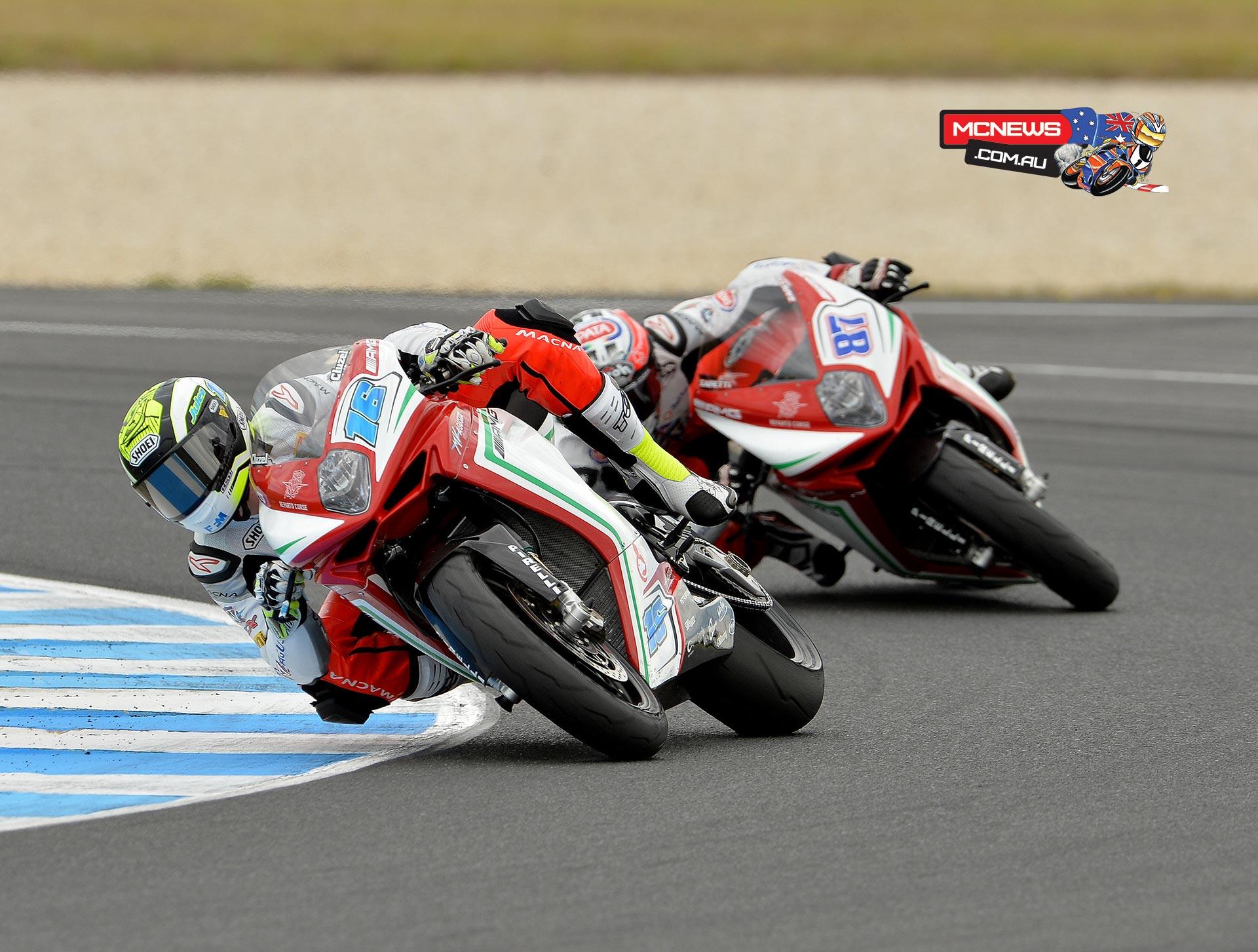 World Supersport 2015 Round One Phillip Island