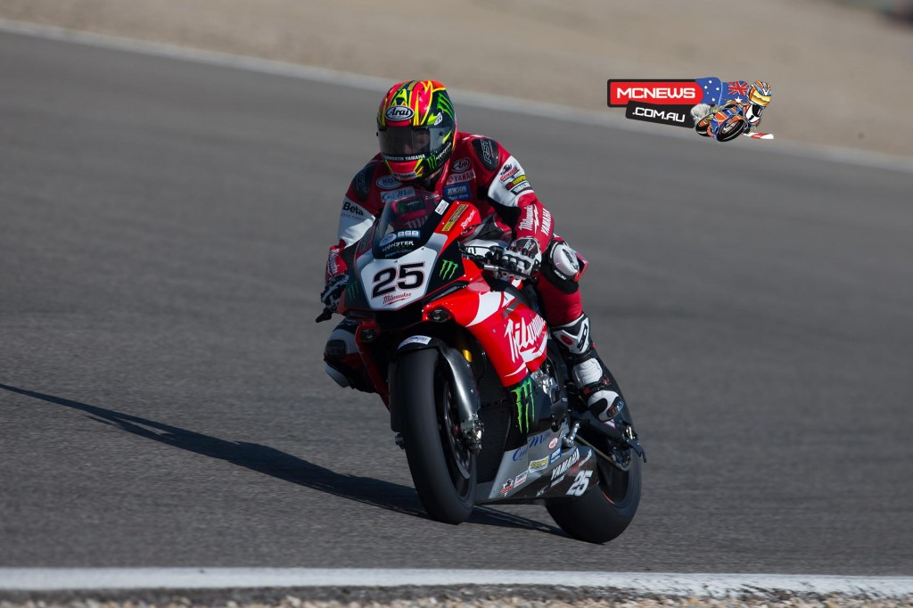 Josh Brookes 2015 Yamaha YZF-R1M British Superbike Championship
