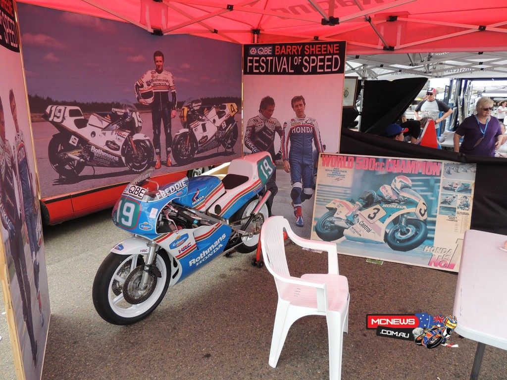 Barry Sheene Festival of Speed with Freddie Spencer
