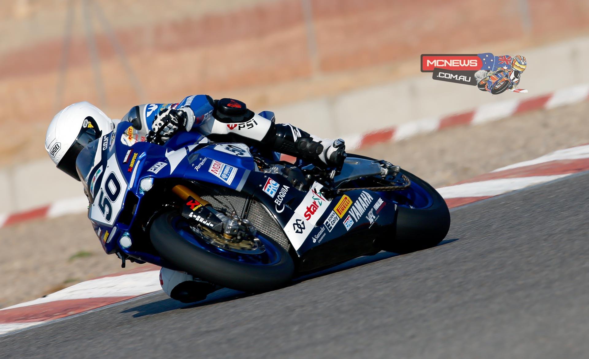 Damian Cudlin Yamaha YZF-R1 2015 IDM